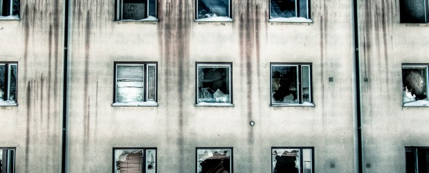 Det övergivna hyreshuset i Grängesberg